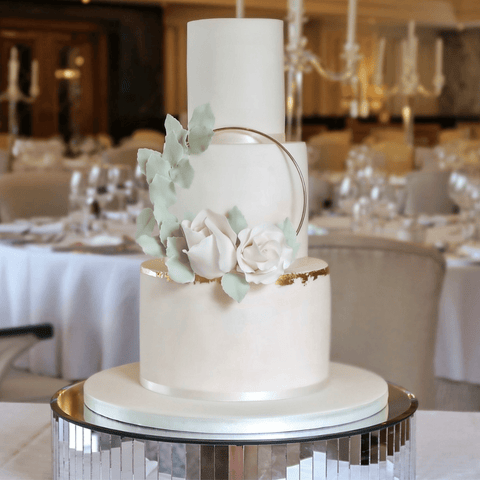 wedding cake sugar flowers northern ireland