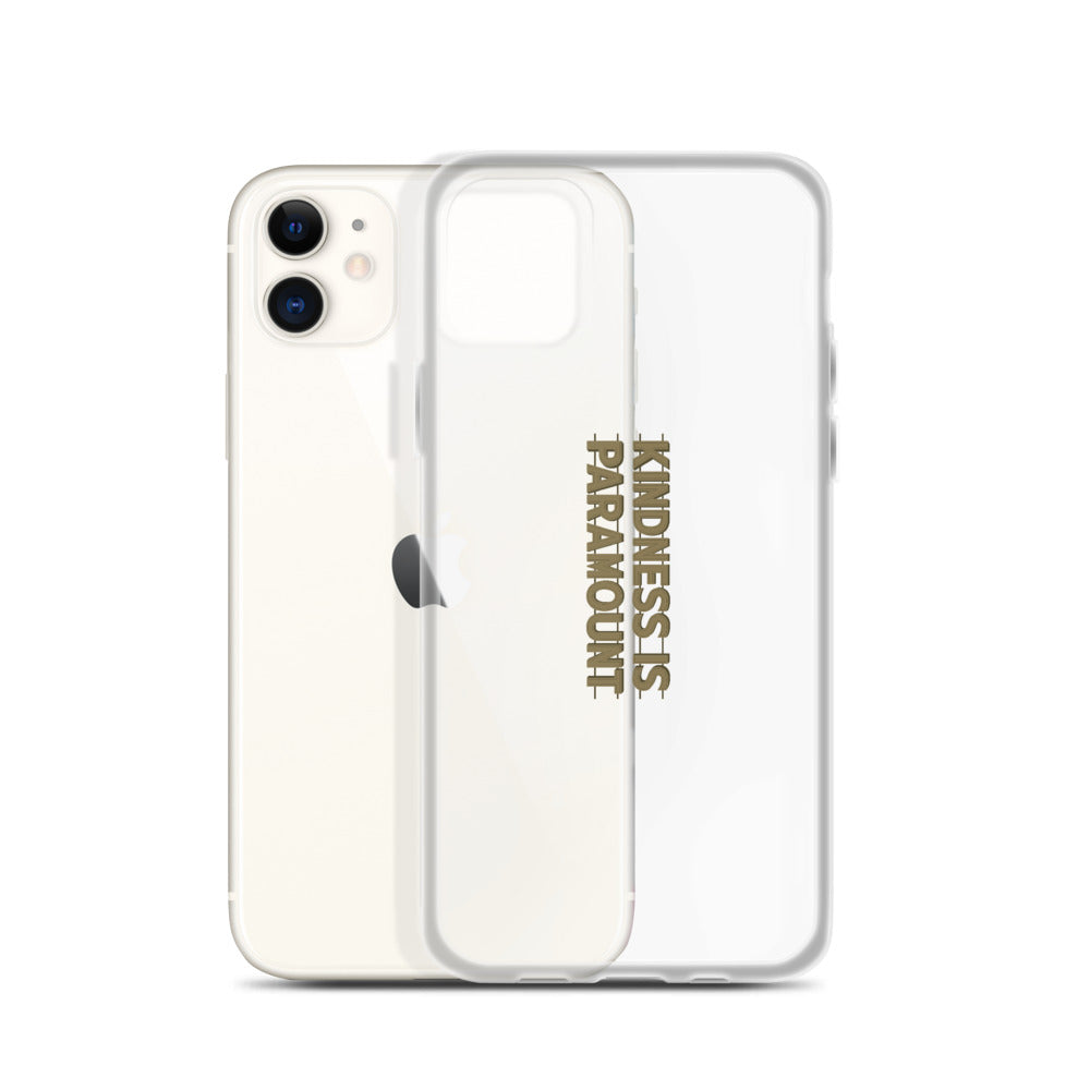 Kindness is Paramount iPhone Case
