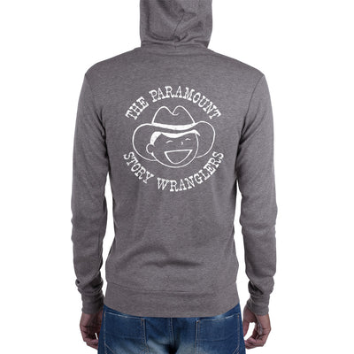 Story Wranglers Adult Zip Hoodie (with boy logo)