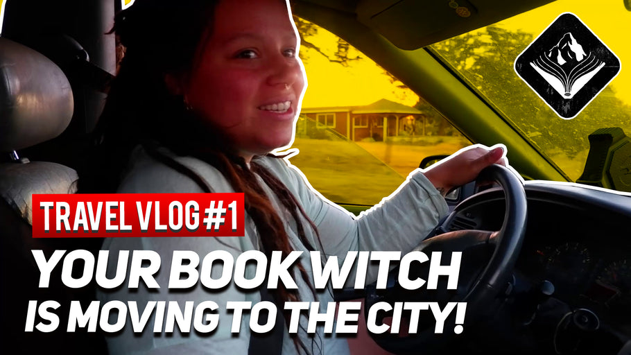 Your Book Witch is Moving to the City! || TRAVEL VLOG#1|| 7/28/20|| Mountain Bound Books