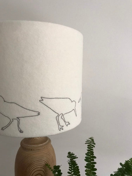 Oyster Catcher Lampshade