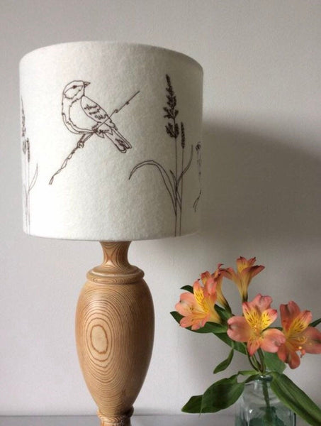 Garden Birds Lampshade