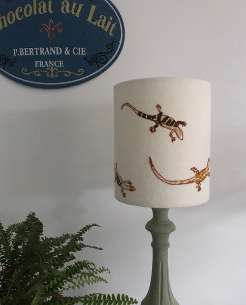 Lizard Lampshade