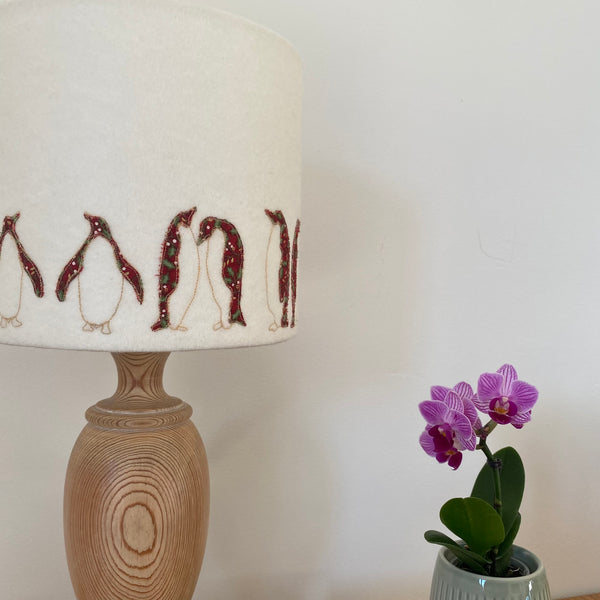 Christmas Penguin 'seconds' Lampshade