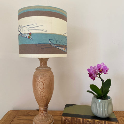 Gig boat 'seconds' lampshade