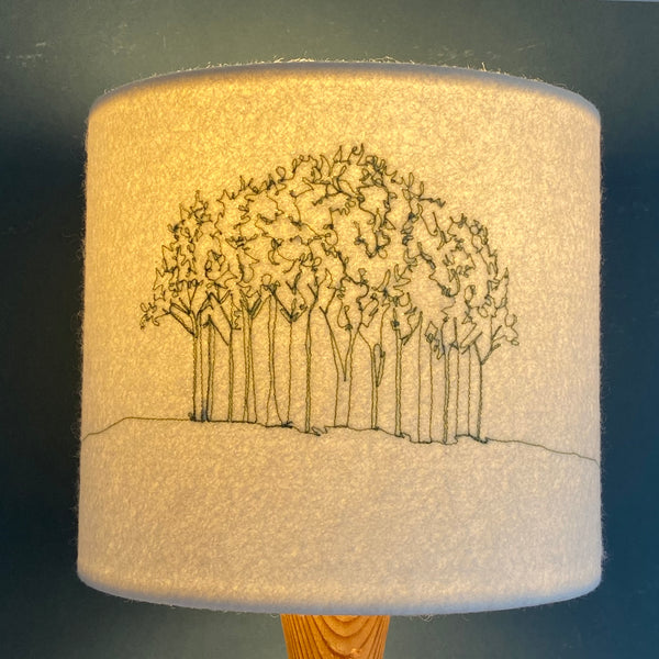 Nearly Home Trees Lampshade