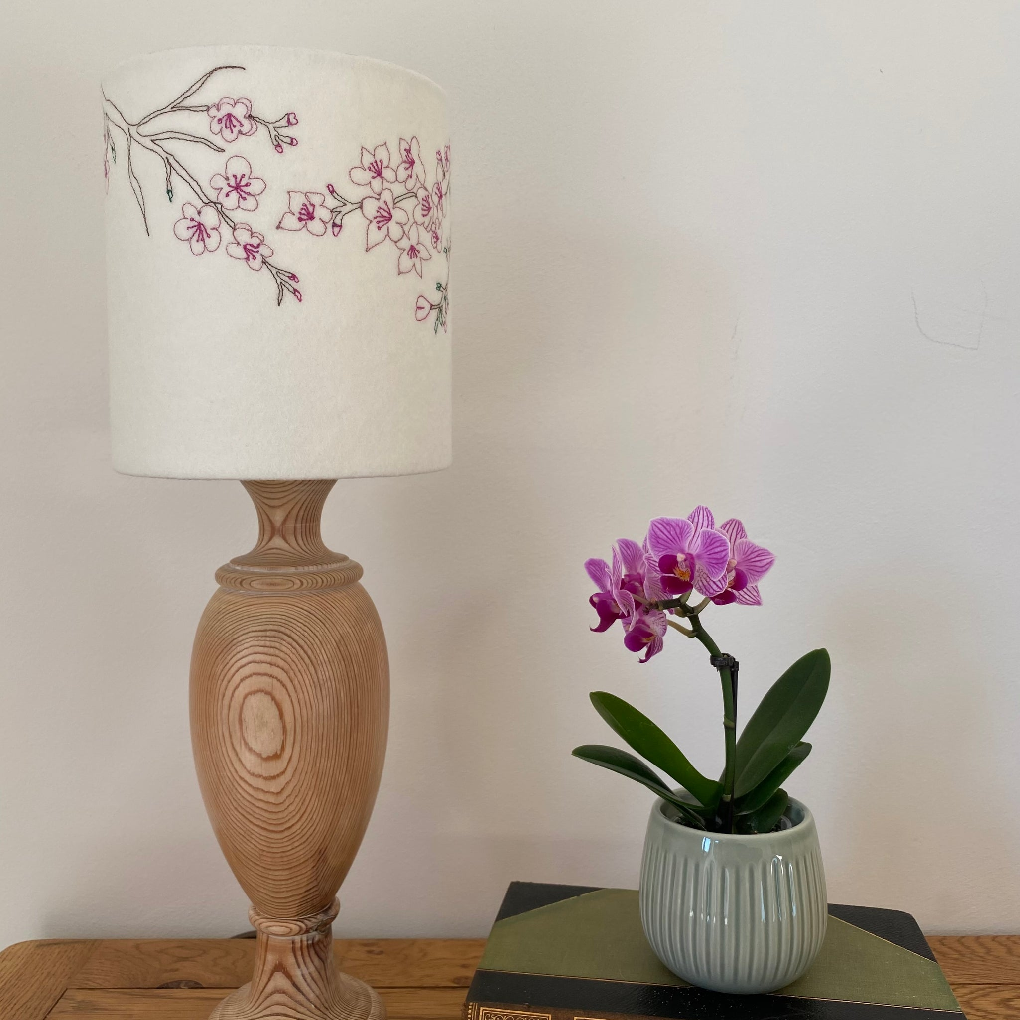 Cherry blossom 'seconds' lampshade