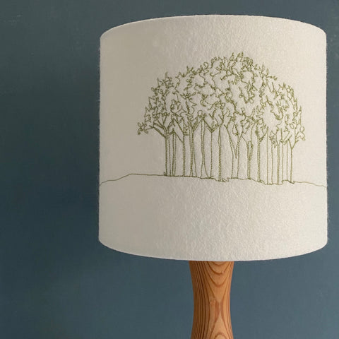 Nearly There Trees Lampshade