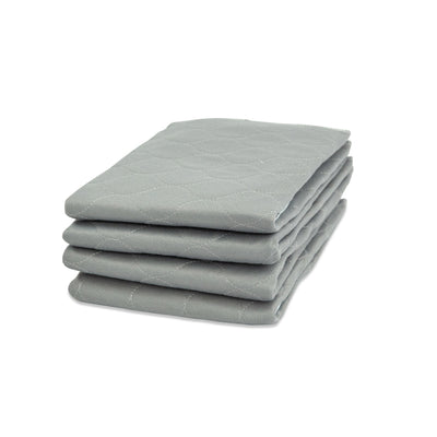rocket & rex 4-pack medium-size grey pads are great for puppies and smaller dogs, with their superior absorption and durability