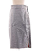 Grey Brooks Brothers Wrap Around Pencil Skirt - XS