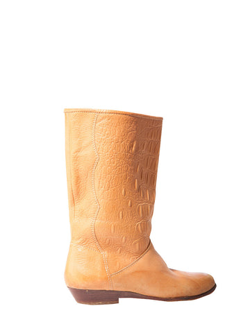 Dark Peach Unisa Pull On Boot #1B0-368/369