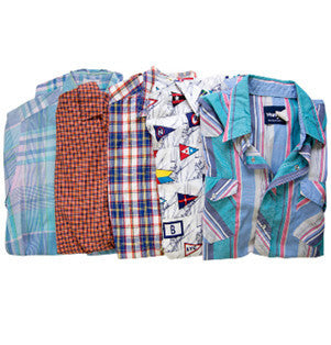 Mystery Short Sleeve Button Down Shirt