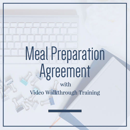 Meal Preparation Agreement