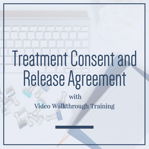Treatment Consent and Release Agreement