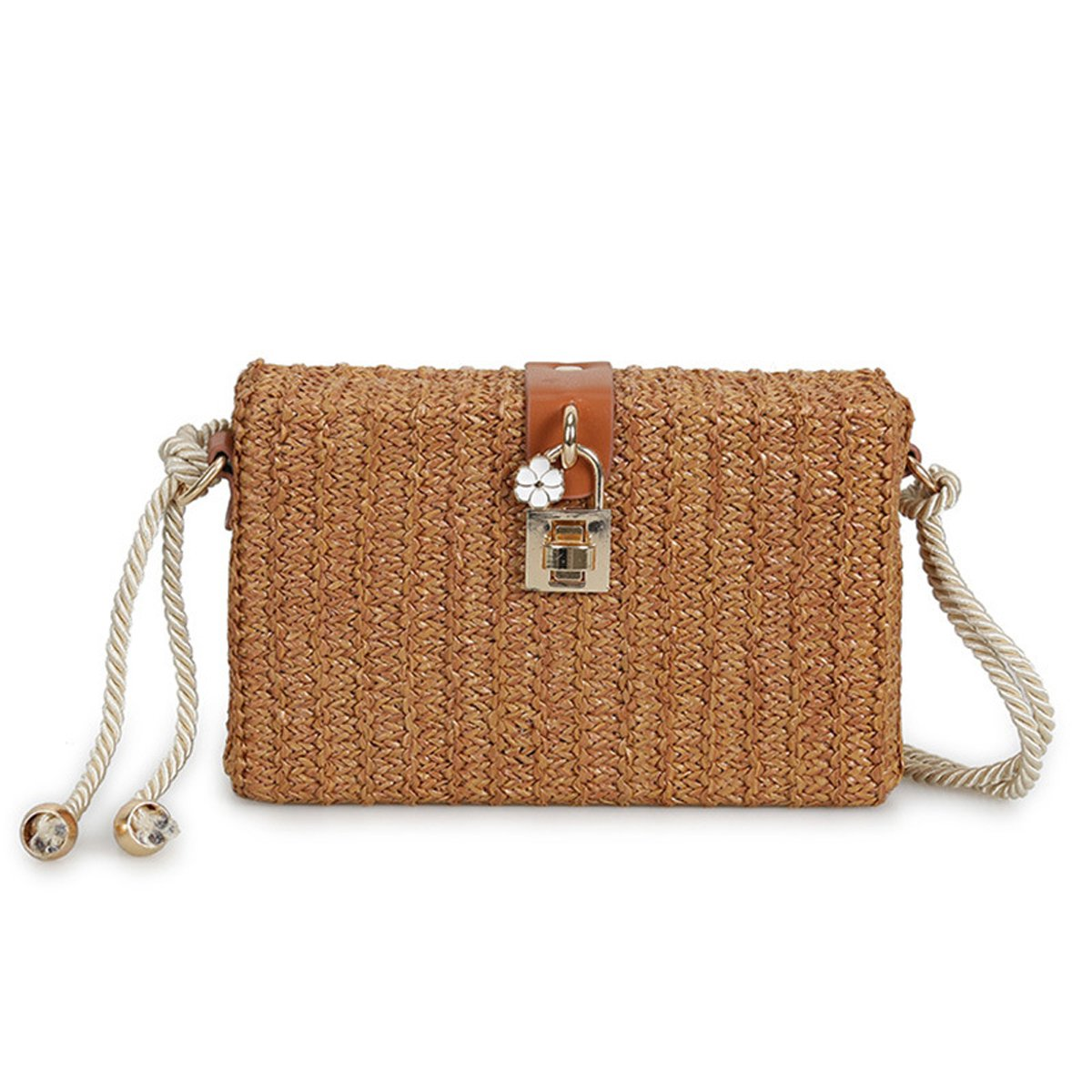 Summer Lock Crossbody Bag