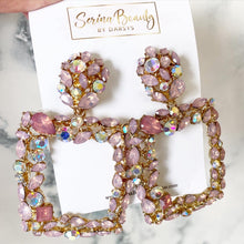 Load image into Gallery viewer, Pinky Rose Gold Earrings