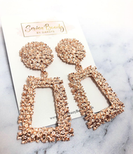 Load image into Gallery viewer, Rose Gold Earrings