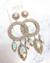 Load image into Gallery viewer, Champagne Long Earrings