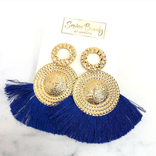 Load image into Gallery viewer, Navy Blue Tassel