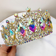 Load image into Gallery viewer, Rhinestones Crown