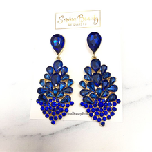 Load image into Gallery viewer, Royal Blue Earrings
