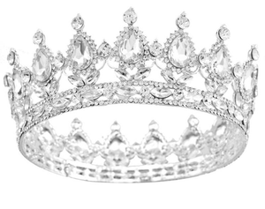 The Gaby Crown in Silver