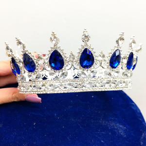 Silver Blue Crown