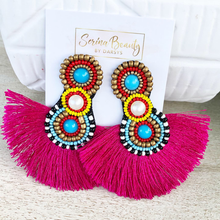 Load image into Gallery viewer, Summer Tassel Earrings