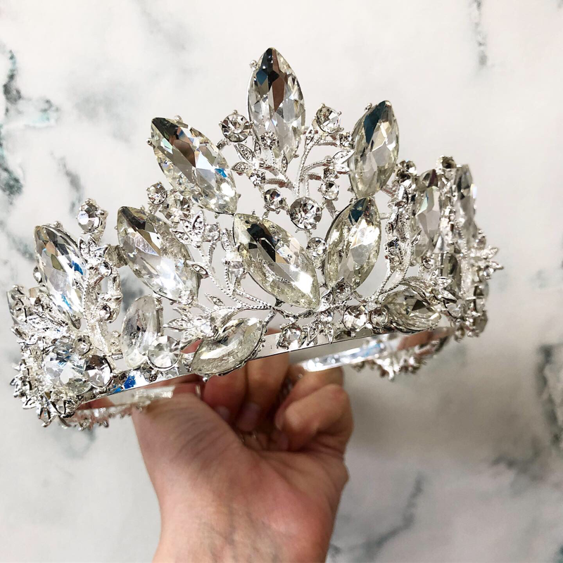 Silver Sparkle Crown