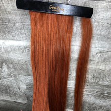 Load image into Gallery viewer, Human Hair Ponytail Ginger Redish  (#33) 100 Grams | 26 inches