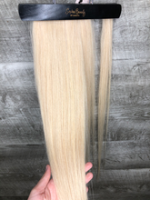 Load image into Gallery viewer, Human Hair Ponytail in Blonde (#16)