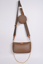 Load image into Gallery viewer, CrossBody Brown Bag