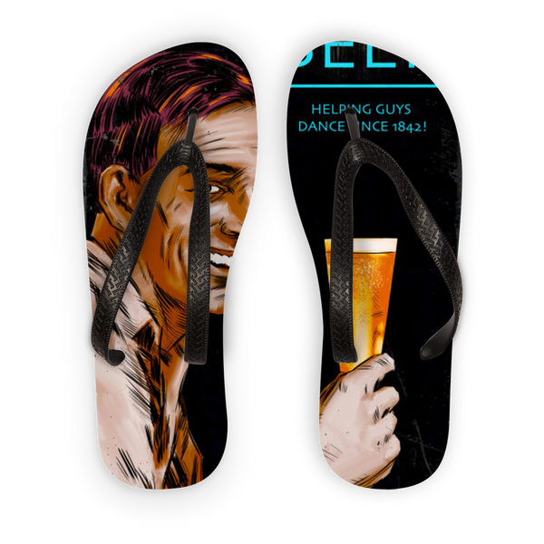 BEER Is Love Adult Flip Flops