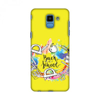 Back To School Slim Hard Shell Case For Samsung