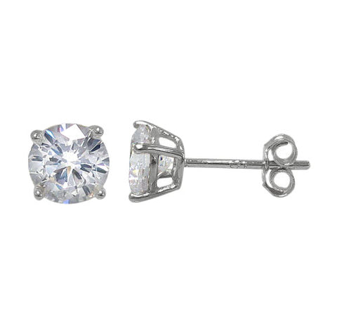 Earrings - .925 SS - CZ Studs