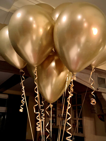 Balloons - Gold Chrome