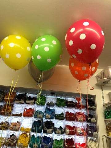 Balloons - Polka Dot - assorted