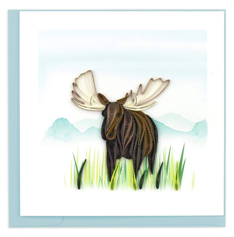 Moose - Blank - Quilling Art