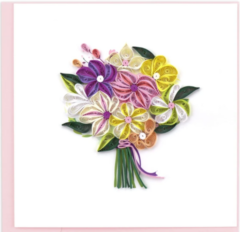 Flowers - Blank - Bouquet - Quilling Art