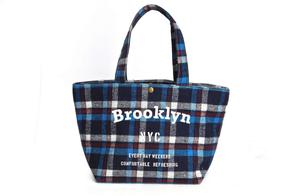 Pusher Store BROOKLYN - LUNCH BAG Blu