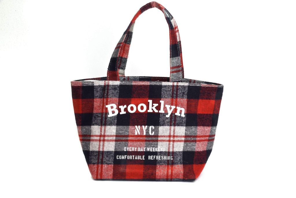 Pusher Store BROOKLYN - LUNCH BAG Rosso