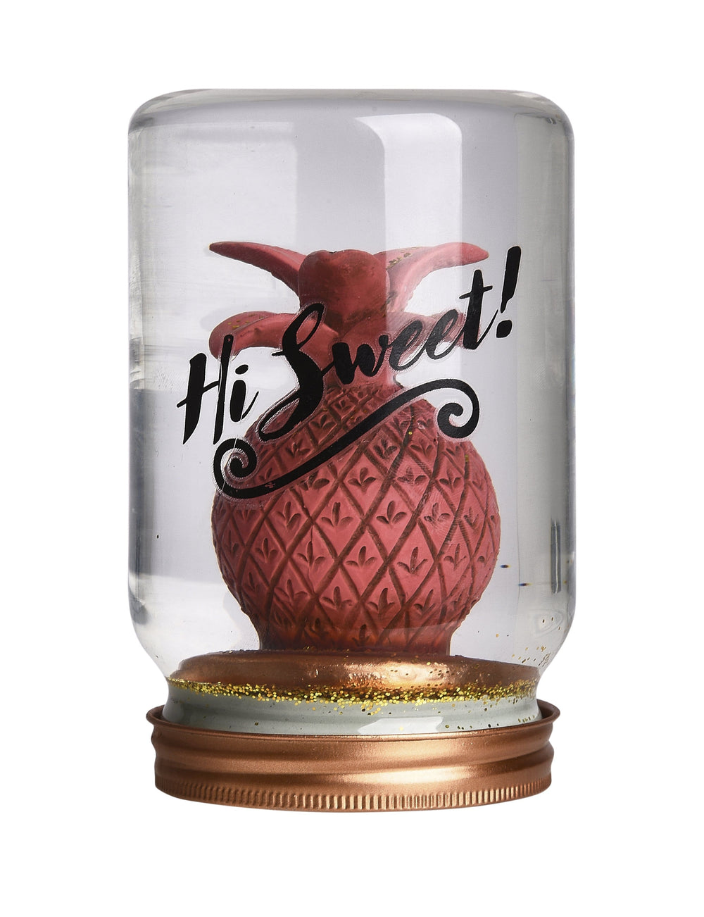 Pusher Store JAR SNOWGLOBE Ananas