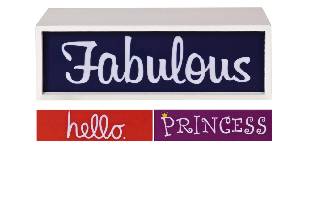 Pusher Store LIGHT BOX Princess-Fabolous-Hello