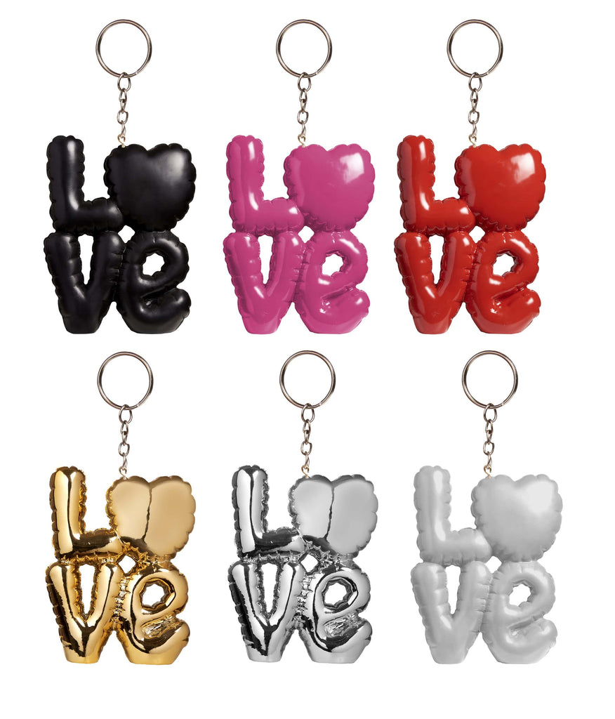 Pusher Store LOVE KEYCHAIN