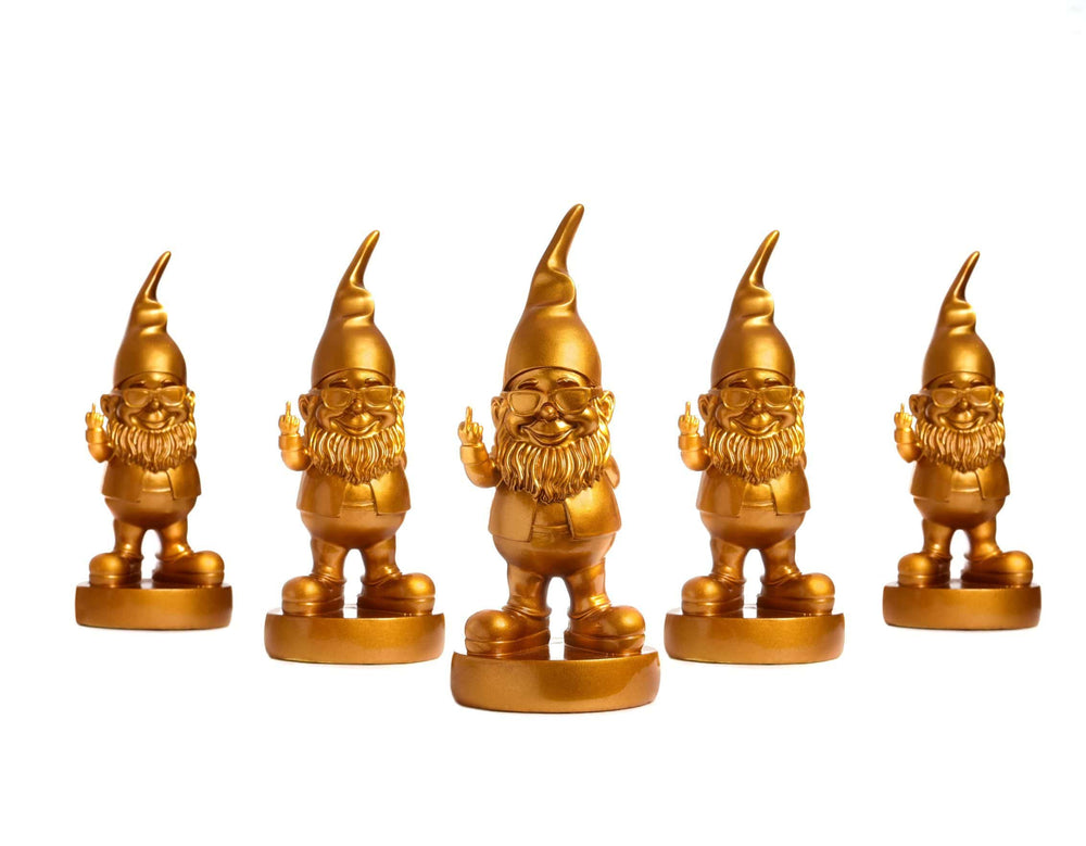 Pusher Store OTELLO IL NANO MONELLO - Limited Edition Golden Gnome