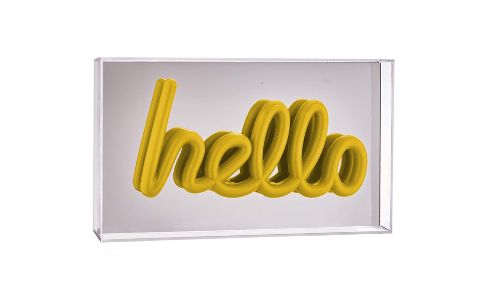 Pusher Store REFLECT Hello / Yellow