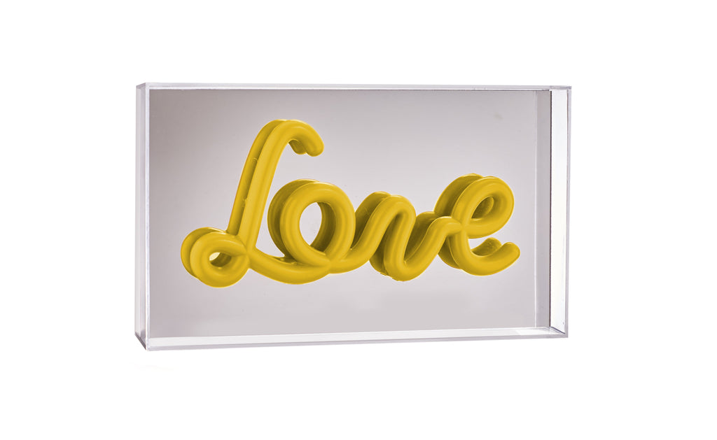 Pusher Store REFLECT Love / Yellow