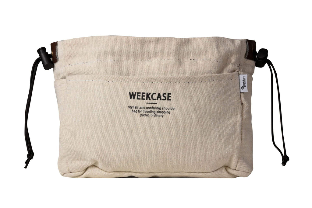 Pusher Store WEEKCASE ORGANIZER BAG BIANCO