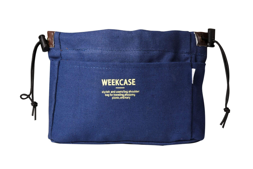 Pusher Store WEEKCASE ORGANIZER BAG BLU