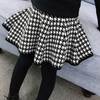 Macy's Black and White Pattern Skirt